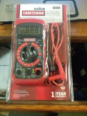 Craftsman Digital Multi Meter Volt Ac Dc Tester Meter Voltmeter Ohmmeter