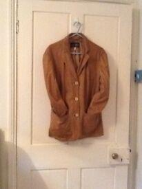 Ladies Armani leather jacket