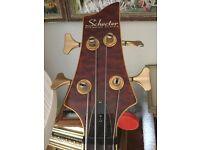 Schecter Diamond series C4 bass guitar