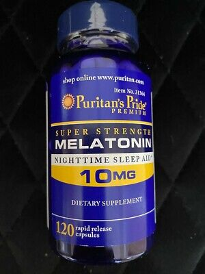 MAXIMUM STRENGTH 10mg x120 Sleeping Pills Sleep Aid Tablets QUICK POST