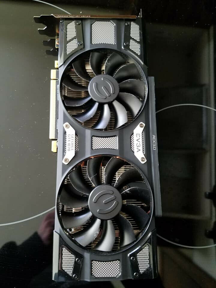 EVGA gtx 1070 SC 8gb graphics card | in Highley, Shropshire | Gumtree