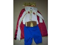 King Costume Set