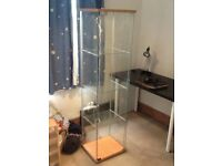 IKEA display cabinet with light