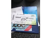 2 steps tickets for Thursday 7th at sse hydro glasgow
