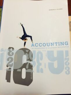TEXTBOOK - ACCOUNTING - INTRODUCTION Bulimba Brisbane South East Preview