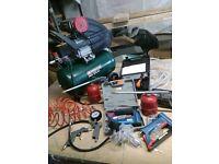 Air compressor and air tools