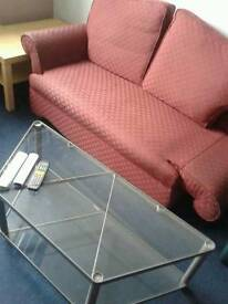 Elegant Sofa and Lower Table
