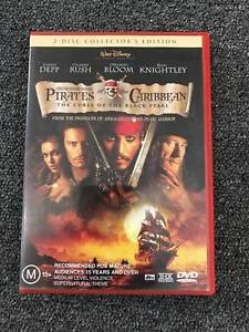 Pirates of the Caribbean: 3 Set Limited Edition Collector Items Southbank Melbourne City Preview
