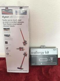 Dyson V6 total clean and allergy kit