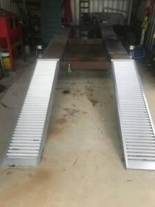 Heavy duty car ramps