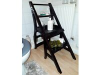 Metamorphic chair / Library steps / Display shelves