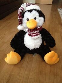 Penguin Teddy Soft Toy