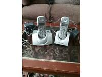 Cordless Phone Twin Set