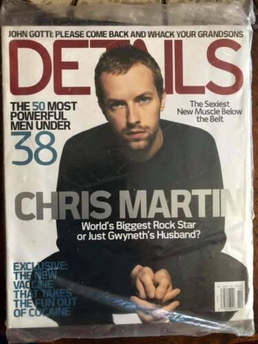 Chris Martin of Coldplay Details  magazine  2004 sealed Fashion Rocks Beyonce