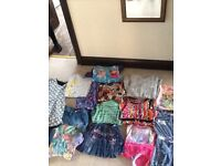GIRLS BUNDLE OF CLOTHES - 7/8 YEARS