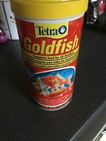 FREE Tetra goldfish food