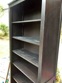 Hemnes black bookcase