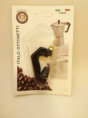 Handle + Accessories Mocha Type Bialetti Size 3 Cup
