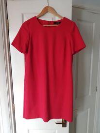 Red Next Shift Work Dress Size 12