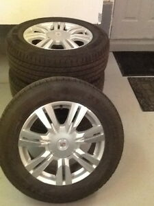 Cadillac Rim with Pirelli winter tires