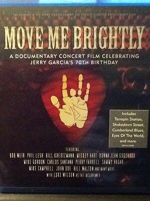 Move Me Brightly: Celebrating Jerry Garcia's 70th Birthday [Blu-ray] NEW! Sealed