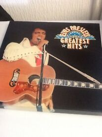 ELVIS PRESLEYS GREATEST HITS VINYL