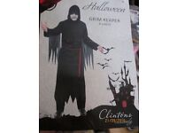 GRIM REAPER / SCREAM FANCY DRESS OUTFIT L/XL GREAT FOR PARTY OR STAG DO
