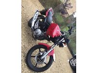 Yamaha YBR 125 2011 Full Mot, Service History. Offers accepted.