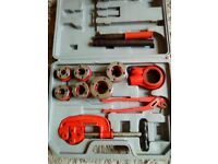 Pipe cutting tools , good condition , full set.