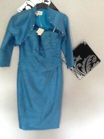 Mother bride dress and jacket Size 10/12