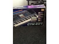 Casio CTK-601 Electronic Keyboard - Full size