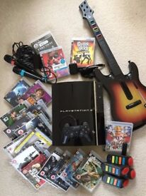 PS3 bundle with 18 games - £120 or reasonable offers accepted - Collection only - BARGAIN