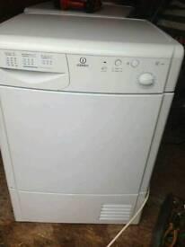 Indesit condenser dryer 7kg load 70.00 Newfield