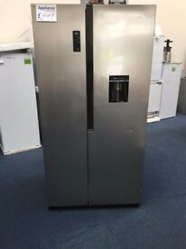 EX-DISPLAY LOGIK FROST FREE, FRIDGE FREEZER W/ NON-PLUMBED WATER DISPENSER REF: 31376