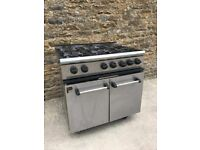 GAS 6 RING COOKER UNIT