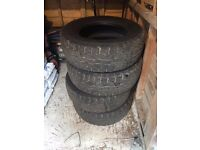 Set of 4 Falken tyres - Immaculate condition
