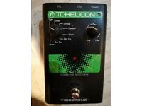 TC Helicon Voicetone D1 Doubling and Detune Vocal Pedal