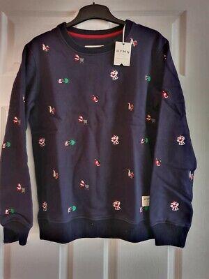 BNWT HYMN London Men's Bad Santa Sweatshirt Size S RRP £65