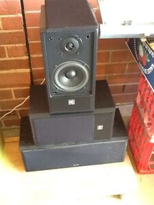 DB DYNAMICS speakers set of 3 Polaris db8008 Rosewater Port Adelaide Area Preview