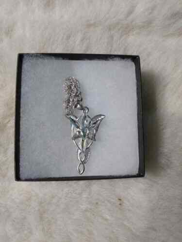 The Lord of The Rings Pendant of Arwen Necklace Movie Prop Replica - Bam Box