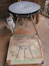 Vintage Retro Portable BBQ SUPERCHEF with carry CASE Gawler Gawler Area Preview