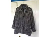 Ladies EWM Coat size 18 BNWT RRP £80 - Ideal Christmas Gift for Mum