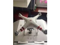 DJI PHANTOM 3 STANDARD FOR SALE - USED TWICE