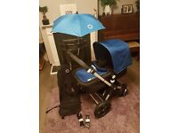 Bugaboo Cam 3 buggy in Royal Blue - fantastic condition, top of the range, newborn to child £450 ONO