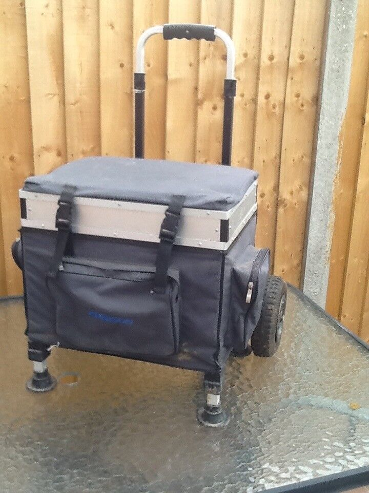 Trolley Fishing tackle Seat box | in Melton Mowbray, Leicestershire |  Gumtree