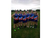 Glasgow Sharks Aussie Rules Womens Team Recruitment