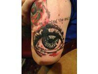 Discounted tattooist