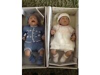 Ashton Drake Sugar & Spice twin newborn baby dolls