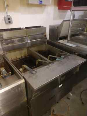 Pitco Double Fryer With Filtration