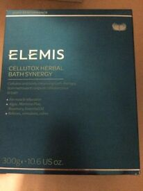 Elemis cellutox bath synergy (10 ) in box and Ionithermie Formule a+b (12 x 10ml) body smoother